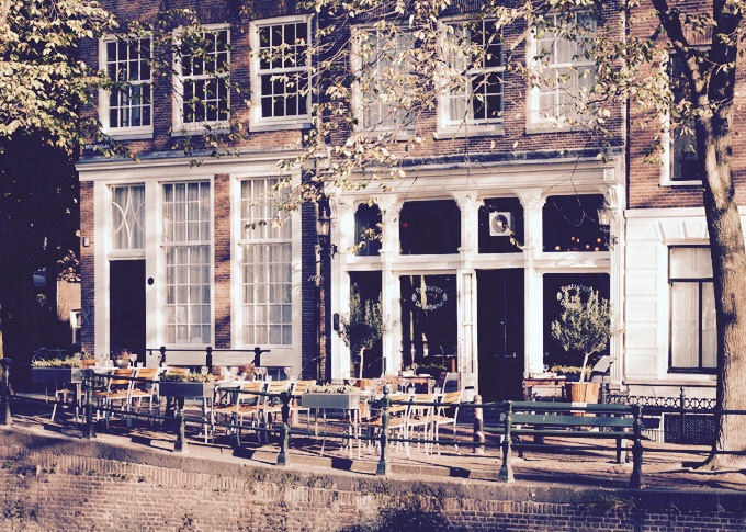 Catch52 Belhamel restaurant Brouwersgracht gevel gracht