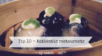 Tip 10 authentic restaurants Amsterdam
