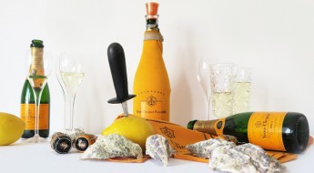 Veuve Clicquot champagne oesters