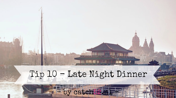 Tip 10 - Late Night Dinner (Wordpress)