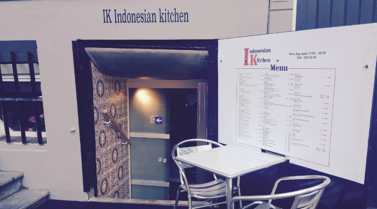 Indonesian Kitchen. De Indische huiskeuken in Amsterdam.