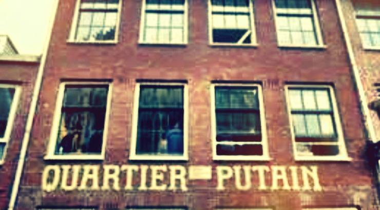 Quartier Putain Amsterdam centrum koffie