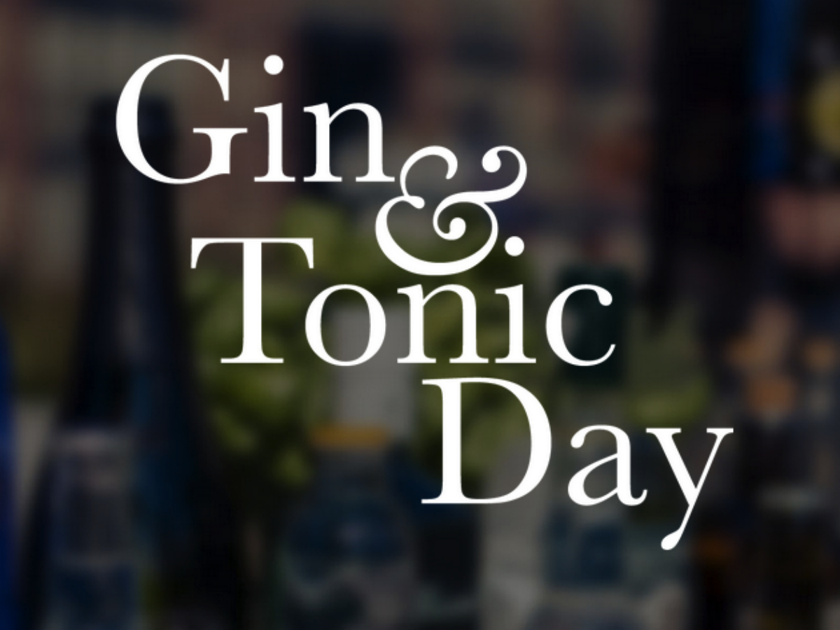 Gin Tonic Day Amsterdam