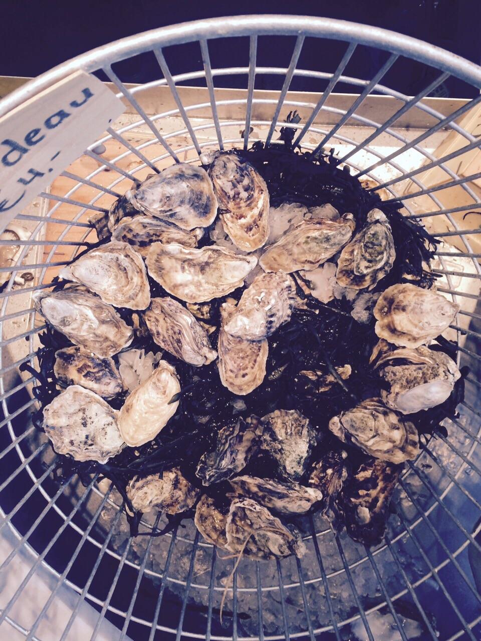 Amsterdam oesters brut de mer mand Catch52