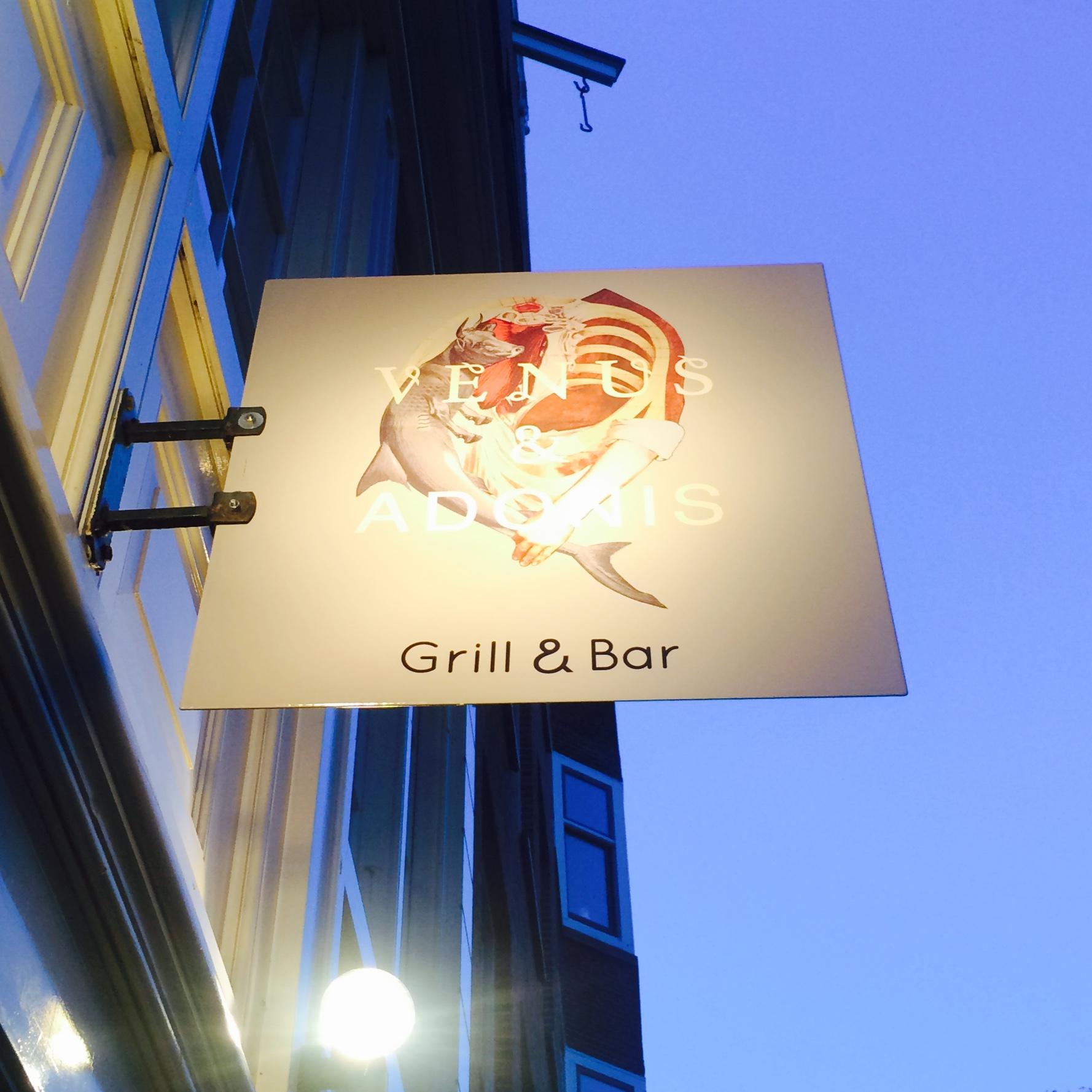 Venus Adonis restaurant Catch52 Prinsengracht