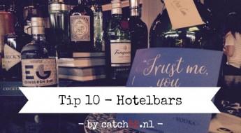 Tip 10 hotelbar Amsterdam