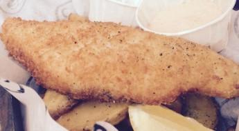 Visbar Beet Amsterdam fish chips