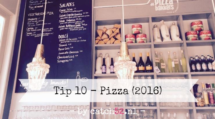 Tip 10 pizza Amsterdam