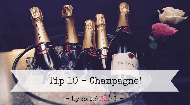 Tip 10 champagne Amsterdam Taittinger