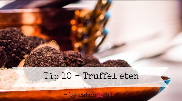 Tip 10 truffel restaurant Amsterdam