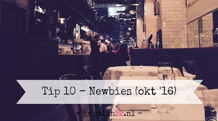 Tip 10 nieuw Amsterdam restaurant oktober