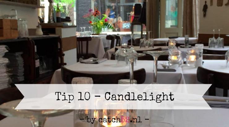 Tip 10 romantisch diner Amsterdam restaurant