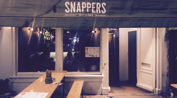 Snappers restaurant Amsterdam tequila