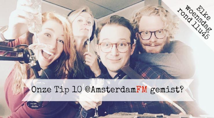 Tip 10 Cityguys luister terug Amsterdam FM