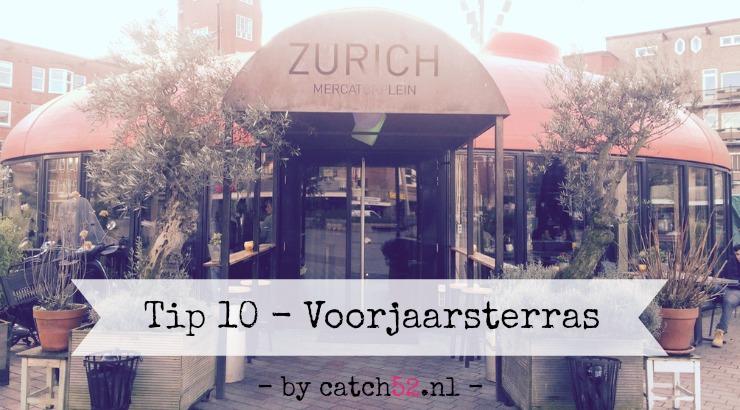 Tip 10 voorjaar terras lente Amsterdam