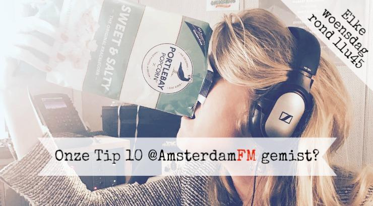 Amsterdam FM Marianne Aalders popcorn