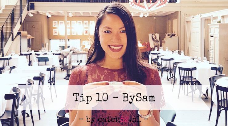 Tip 10 Catch52 BySam Susam Pang Amsterdam restaurant
