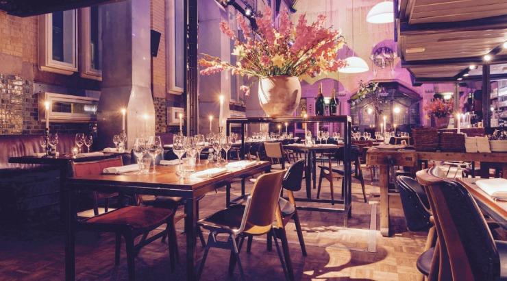 Pompstation restaurant Amsterdam Oost