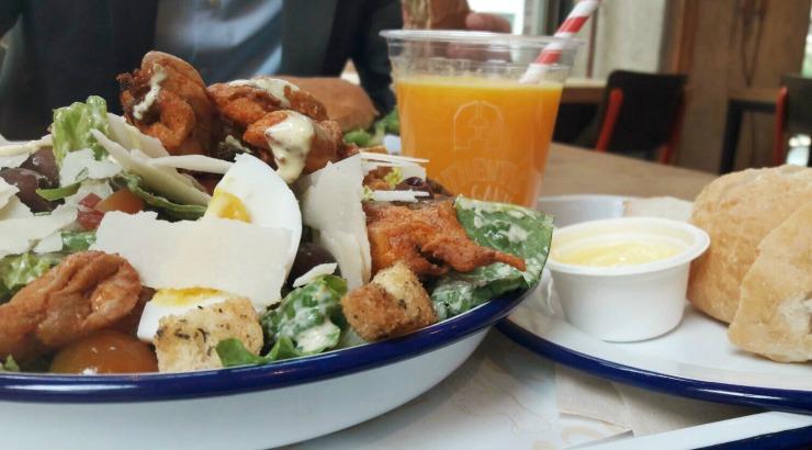 The Barn Zuidas Amsterdam lunch