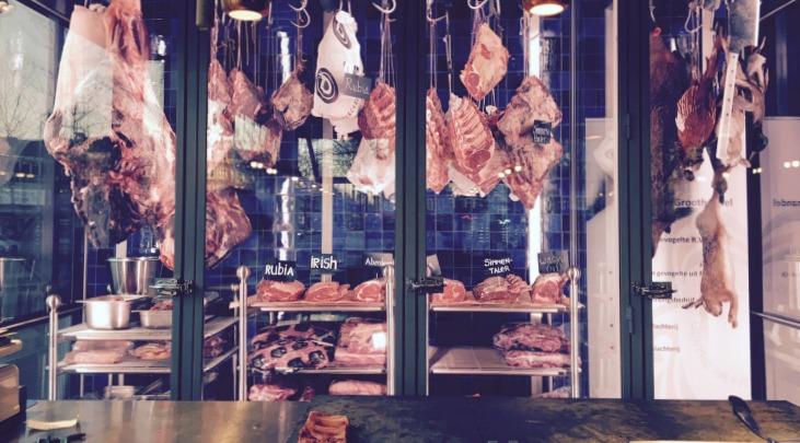 The Roast Room Amsterdam restaurant cote de boeuf slagerij