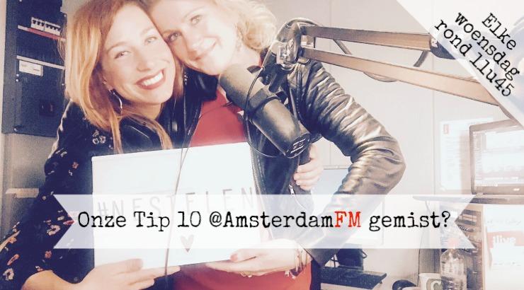 Tip 10 nestelplekken Amsterdam restaurant terras AmsterdamFM Marianne Aalders