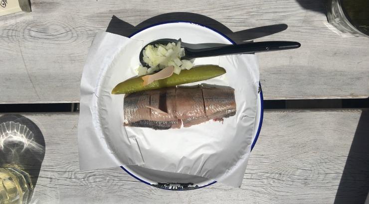 Tijger & De Vis Amsterdam Jordaan viswinkel haring