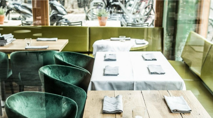 Hoed & Krelis restaurant Amsterdam De Pijp