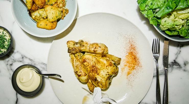 RIJKS Amsterdam restaurant kippennacht